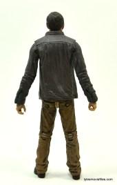 The Walking Dead Gareth figure review - back
