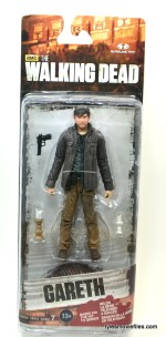 The Walking Dead Gareth figure review - front package