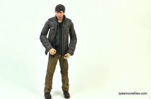 The Walking Dead Gareth figure review - hands close