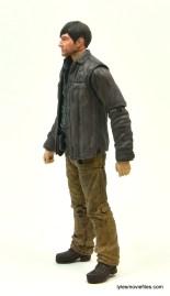 The Walking Dead Gareth figure review - left side