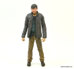 The Walking Dead Gareth figure review - wide straight