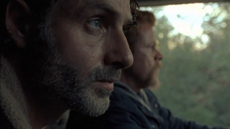 The Walking Dead - Last Day on Earth review -rick and abraham