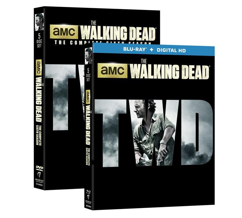 The Walking Dead Season 6 - blu ray and DVD