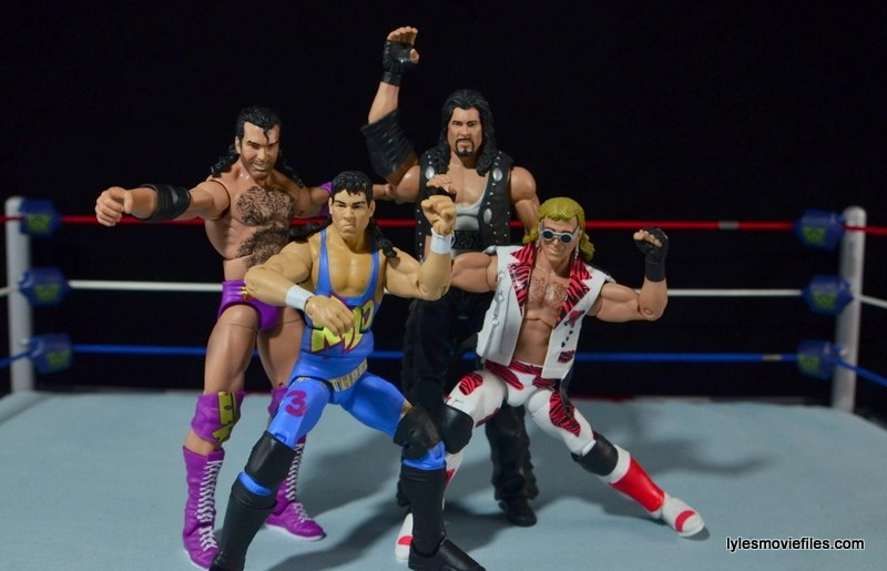 WWE 123 Kid figure review - The Kliq