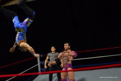 WWE 123 Kid figure review - moonsault to Razor Ramon