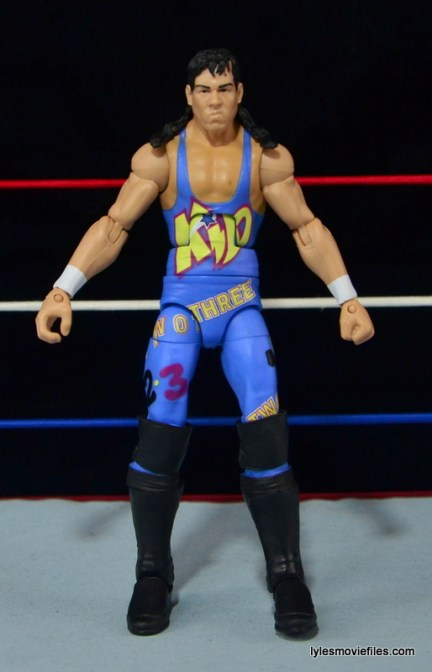 WWE 123 Kid figure review - straight