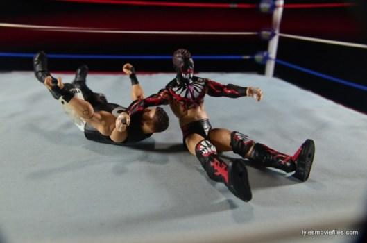 WWE Elite 41 Finn Balor -Sling Blade to Owens