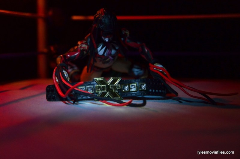 WWE Elite 41 Finn Balor - crawling to NXT title
