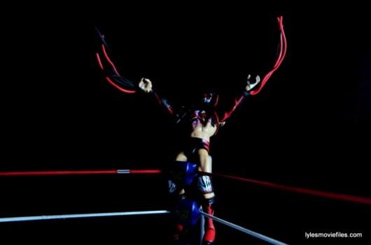 WWE Elite 41 Finn Balor - posing on top rope