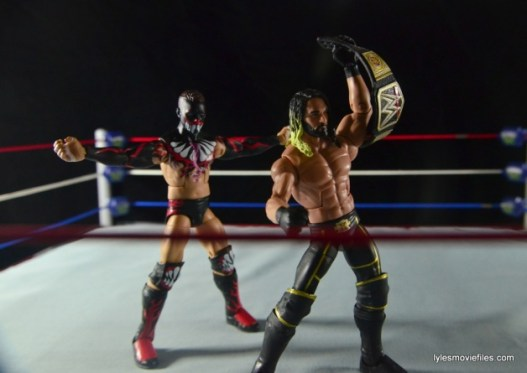 WWE Elite 41 Finn Balor -stalking Seth Rollins