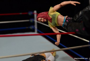 WWE Elite 41 Lita figure -twisting moonsault