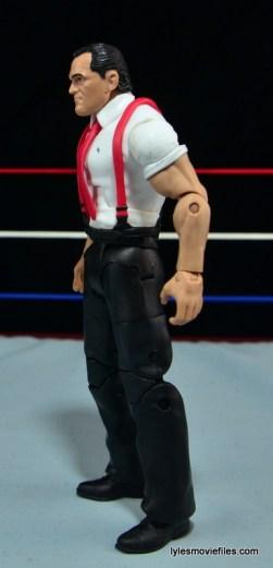 WWE IRS Mattel Elite figure review -left side