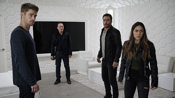agents of shield - the team recap - lincoln, coulson, joey and yo-yo