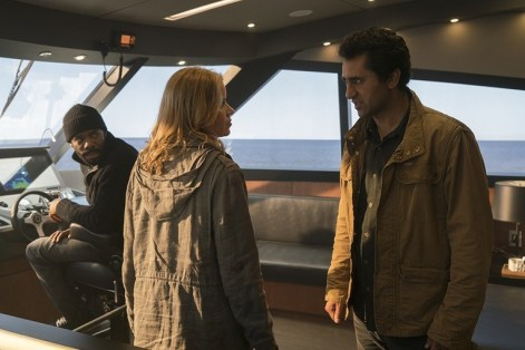 fear the walking dead - monster review - strand, madison and travis