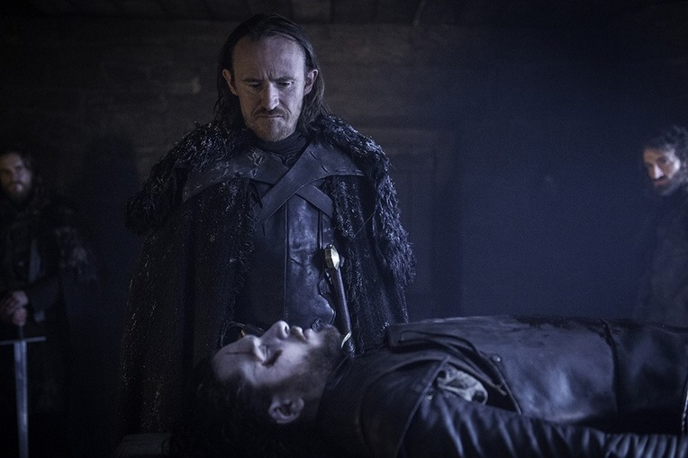 game of thrones the red woman - dolorous edd and jon snow