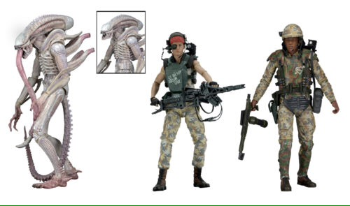 NECA Aliens wave 9 Vasquez and Drake