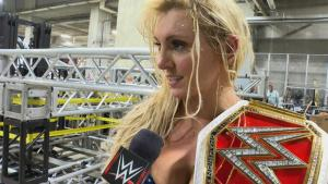 wrestlemania 32 - charlotte with women's title