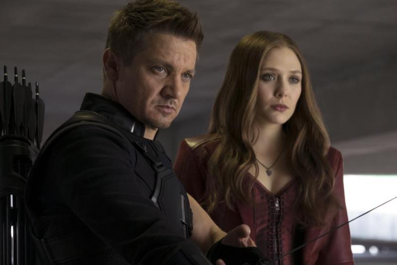 Captain America Civil War pictures - Hawkeye and Scarlet Witch