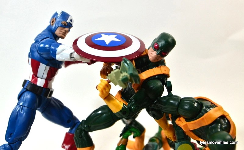 Captain America Hydra Soldier - getting beat down by Captain America