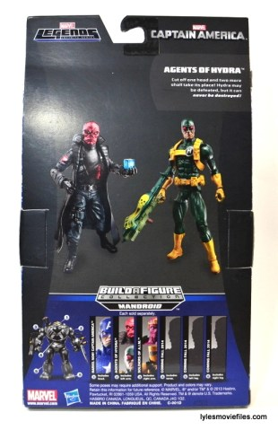 Captain America Hydra Soldier - rear package