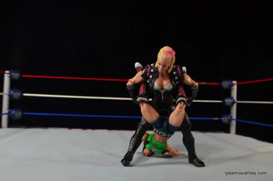 WWE Natalya figure review - Boston Crab to AJ Lee