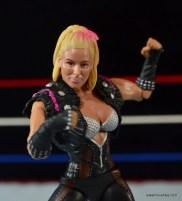 WWE Natalya figure review - face closeup