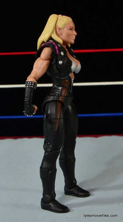 WWE Natalya figure review - right side