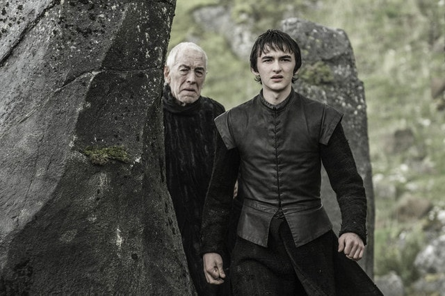 game of thrones - the door review - bran and the three eyed raven-min
