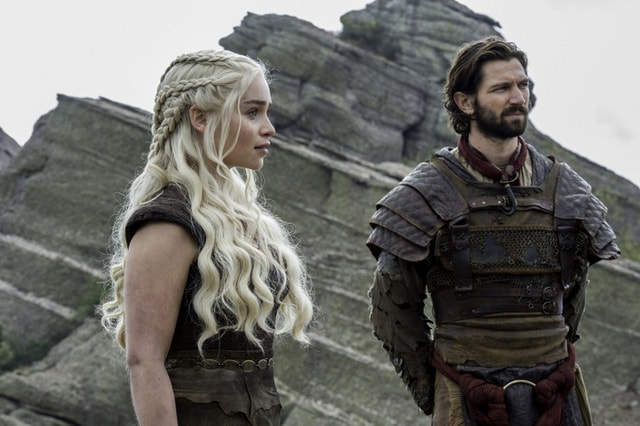 game of thrones - the door review -daenerys and daario-min