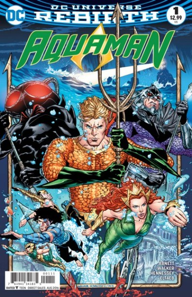 Aquaman issue 1 review cover