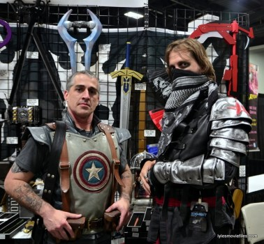 Awesome Con 2016 cosplay - Captain America and The Winter Soldier