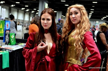 Awesome Con 2016 cosplay - Game of Thrones Melisandre and Cersei
