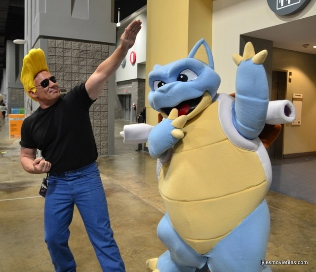Awesome Con 2016 cosplay - Johnny Bravo and Blastoise