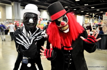 Awesome Con 2016 cosplay - Killer Clowns