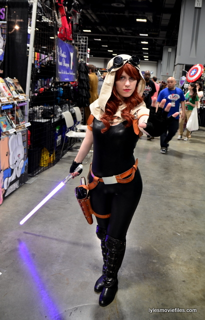 Awesome Con 2016 Cosplay Mara Jade Star Wars Lyles Movie Files