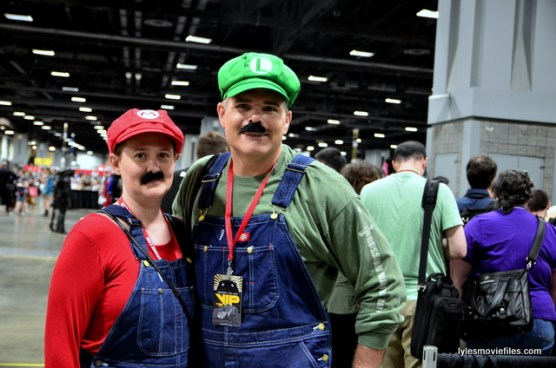 Awesome Con 2016 cosplay - Mario and Luigi