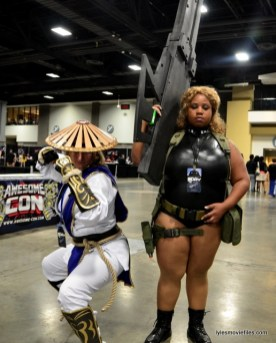 Awesome Con 2016 cosplay - Raiden and
