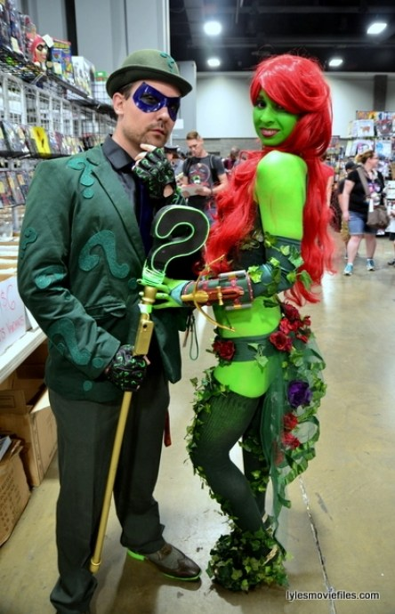 Awesome Con 2016 cosplay - The Riddler and Poison Ivy