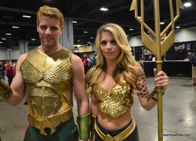 Awesome Con cosplay Day 2 -Aquaman and Laney Jade Aquawoman