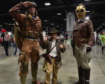 Awesome Con cosplay Day 2 -Captain America, Indiana Jones and The Rocketeer