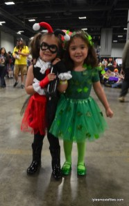 Awesome Con cosplay Day 2 -Lil Harley Quinn and Poison Ivy
