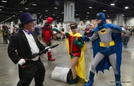 Awesome Con cosplay Day 2 -Penguin vs Robin and Batman