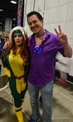 Awesome Con cosplay Day 2 -Rogue and Tony Stark