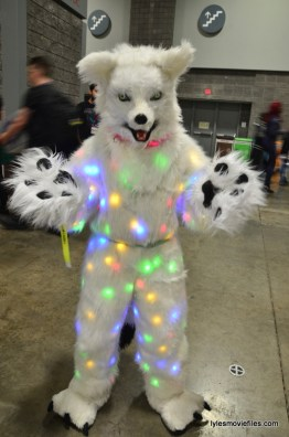Awesome Con cosplay Day 2 -lite up Dog