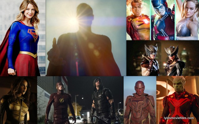CW Justice League - Supergirl. The Flash, Arrow, Martian Manhunter, Legends of Tomorrow, Vixen