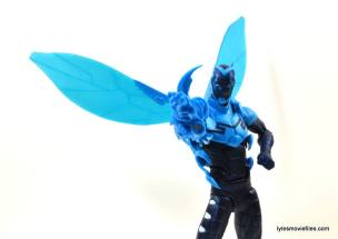 DC Icons Blue Beetle figure review -aiming