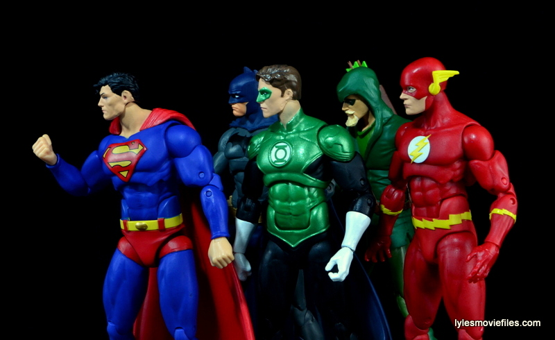 DC Icons Superman figure review - Justice League