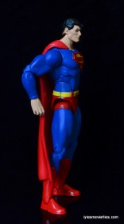 DC Icons Superman figure review -right side