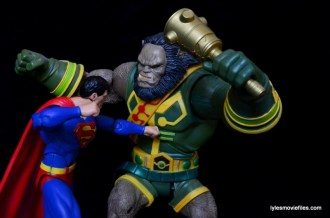 DC Icons Superman figure review -vs Kalibak