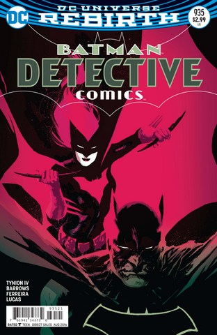 Detective Comics issue 935 variant cover